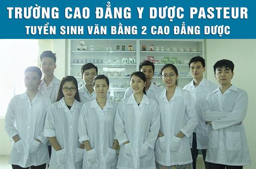 Tuyển sinh Văn bằng 2 Cao đẳng Dược Đắk Lắk 2017