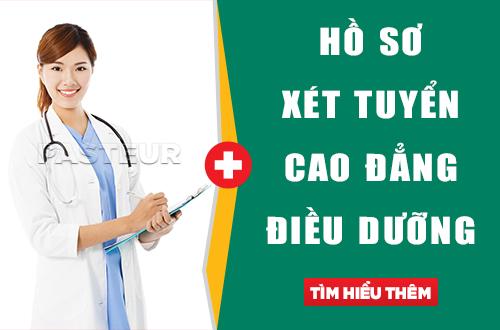 Hồ sơ xét tuyển Cao đẳng Điều dưỡng Đắk Lắk