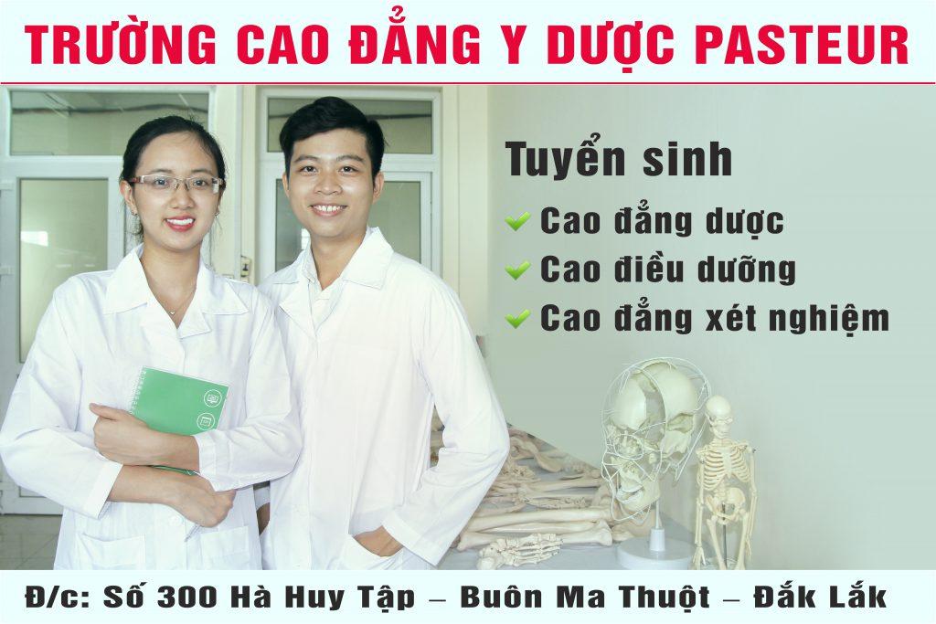 Tuyển sinh Cao đẳng Y Dược Đắk Lắk chỉ cần tốt nghiệp THPT