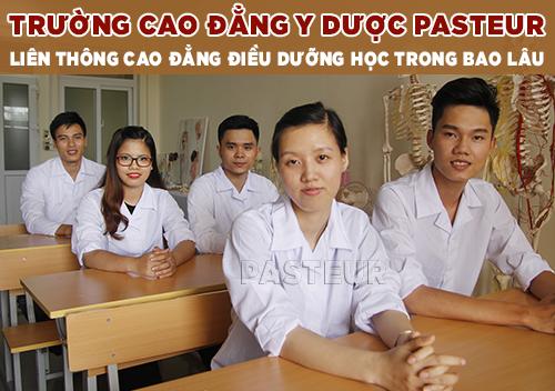 Liên thông Cao đẳng Điều dưỡng Đắk Lắk học trong bao lâu?