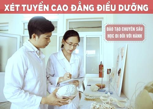 Xét tuyển Cao đẳng Điều dưỡng Đắk Lắk năm 2017