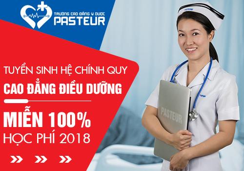 Cơ hội được miễn 100% học phí khi tuyển sinh Cao đẳng Điều dưỡng Đăk Lăk