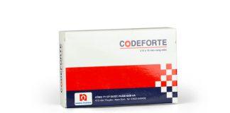 Thuốc Codeforte và những thông tin cần biết trước khi sử dụng